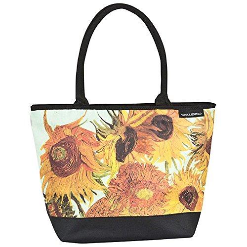 "VON LILIENFELD Borsa shopping Vincent van Gogh: ""Girasoli"""