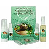 Earth Mama Angel Baby A Little Something for Mama-to-Be organic pregnancy Gift Set, 5 Piece