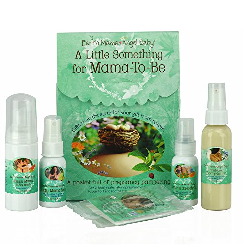A Little Something for Mama-to-Be organic pregnancy 5 pc gift set