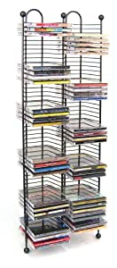 Atlantic Nestable 63705079 100 CD Tower Gunmetal