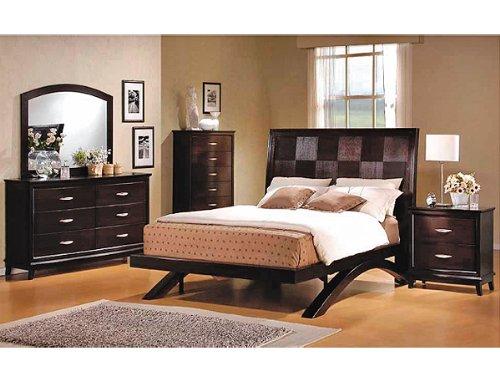 Furniture Bedroom Furniture King Bed Espresso King Bed