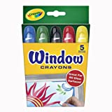 Crayola 52-9765 - 5 Fenstermalstifte von Crayola