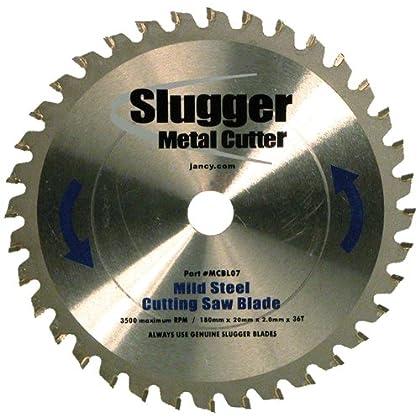 Online Order Jancy Slugger MCBL07 Mild Steel Cutting Saw Blade, 7' Diameter, 36 Teeth