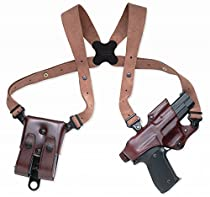 Galco Jackass Rig Shoulder System for Sig-Sauer P226, P220 (Havana, Right-hand)
