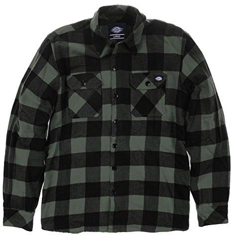 Dickies - Sacramento, Camicia da uomo, multicolore (gravel gray), Medium (Taglia produttore: Medium)