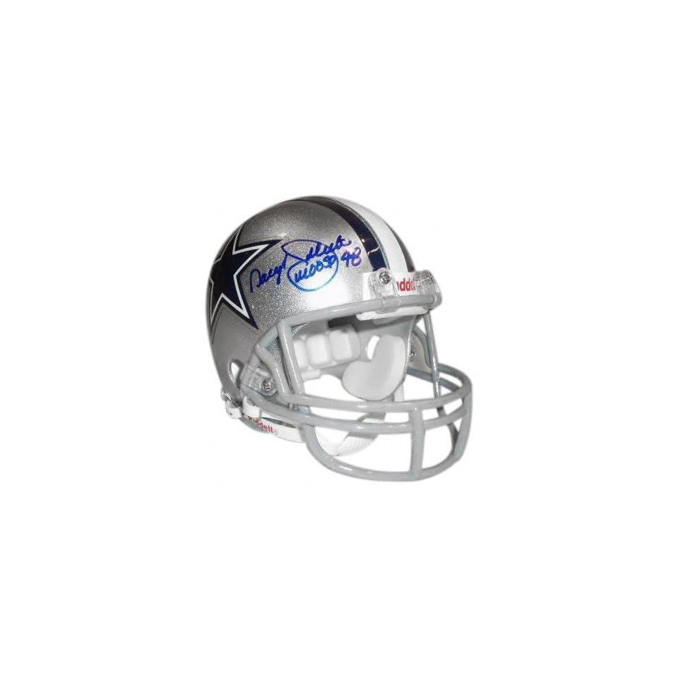 Daryl Johnston Dallas Cowboys Autographed Mini Helmet with Moose Inscription