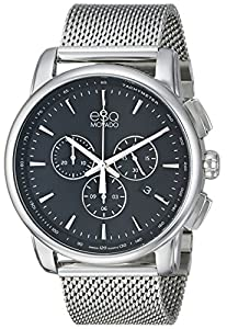 ESQ Movado Men's 07301467 Capital Analog Display Swiss Quartz Silver Watch