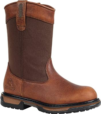 "Rocky Men's 11"" IronClad Waterproof Wellington Work Boot-2430 (M9)"