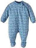 Sanetta Baby - Jungen Schlafanzug (Einteiler), All over Druck 221042, Gr. 74, Blau (5748)