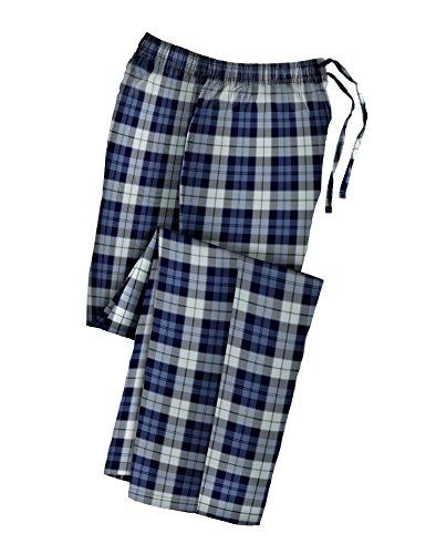 Hanes Mens Big and Tall Cotton Flannel Pajama Pants 2XL