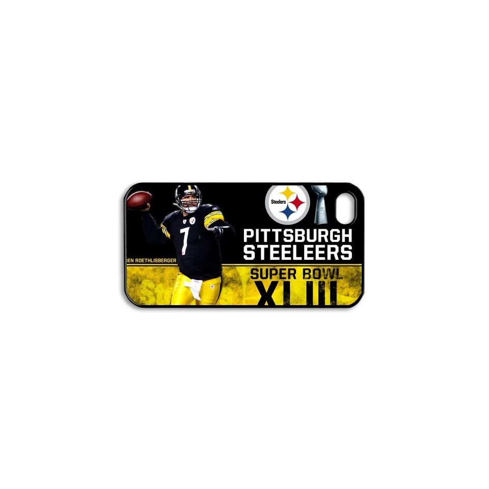 Silicone Protective Case for Iphone 4/Iphone 4S LVCPA Got 6 Champion NFL Pittsburgh Steelers (7.17)CPCTP_828_11 Cell Phones & Accessories