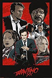 1 X Posters: Quentin Tarantino Poster - Tarantino Xx, One Sheet (36 x 24 inches) by Imaginus Posters