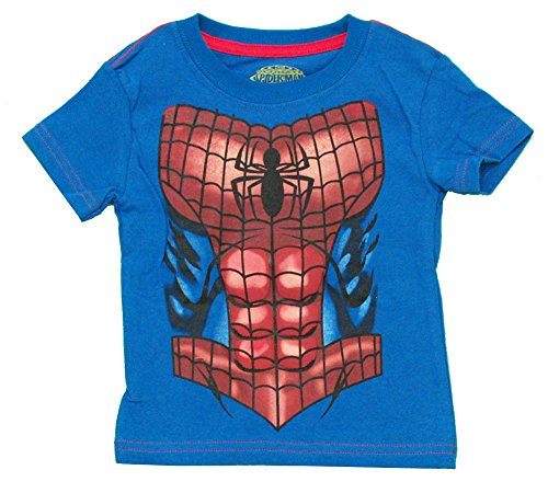 Spider-Man Costume Marvel Comics Superhero Juvy T-Shirt Tee