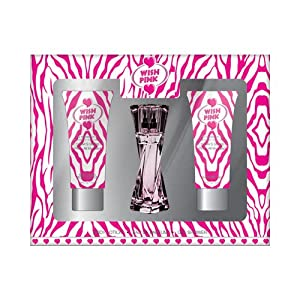 Wish Pink - Mini Gift Set, with Shower Gel, Body Lotion, and Perfume. Impression of Victoria's Secret Pink - All My Heart. by PREFERRED FRAGRANCE