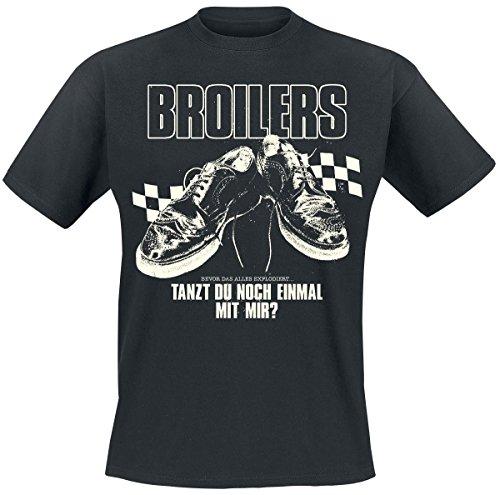Broilers Tanzt du noch einmal mit mir? T-Shirt nero S