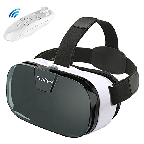 Perlity 3D VR Glasses 3d vr virtual reality Movie Game For IOS, Android ,Microsoft& PC phones Series within 4.0-6.5inches
