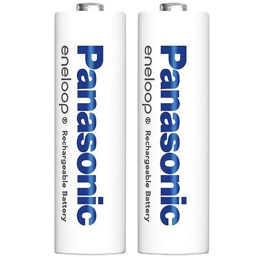 パナソニック eneloop 単3形充電池 2本パック スタンダードモデル 簡易シュリンクパック 4本収納電池ケースサービス
