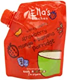 Ella's Kitchen Strawberry, Mango and Banana Porridge 150 g (Pack of 4)