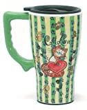 CAT kitten lover Ceramic COFFEE Tea commuter TRAVEL Mug cup New