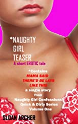 Naughty Girl Teaser (Mama Said There'd Be Lays Like This)