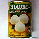 Chaokoh Longan in Syrup, 20 Ounce