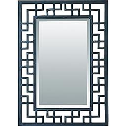 Yosemite Home Decor YHJZ-6007-Iron Beveled Mirror