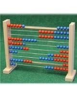 Abacus 615149 calcul boulier châssis 100 29x23 cm