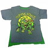 Nickelodeon Little Boys' Teenage Mutant Ninja Turtles Turtle Power Cape Tee