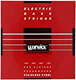 WARWICK ワーウィック エレクトリック・ベース 弦 42200 RED Stainless Steel 4-Strings Set Medium 045/105