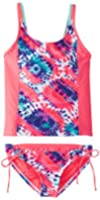 adidas Performance Big Girls' Sorbet Okay Tankini Swimsuit