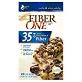 Fiber One Chewy Bars, Oats and Chocolate - 36 ct