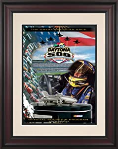 NASCAR Daytona 500 Program Framed Vintage Advertisement Race Year: 46th Annual - 2004 by Mounted Memories