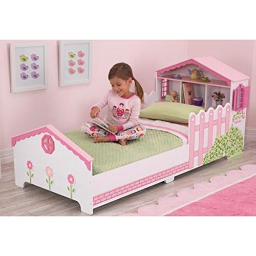 KidKraft maison de poupée Junior Toddler Bed + matelas mousse