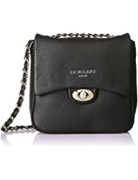 Da Milano Women's Handbag (Black) (Lb-2103W16Blackwax)