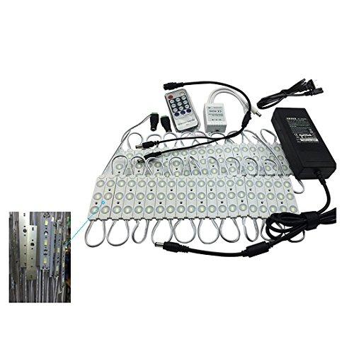 RUSHROR Waterproof 40pcs 21FT LED Storefront Light | Window Edge Light Kits LED Channel Letter Module For Indoor | Outdoor (Led Channel Letter Module compare prices)