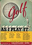 img - for Golf as I Play it : Inside Golf By 28 Champions book / textbook / text book