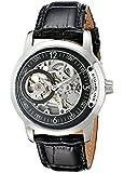 Stuhrling Original Men's 837.02 Classic Delphi Saros Analog Display Automatic Self Wind Black Watch