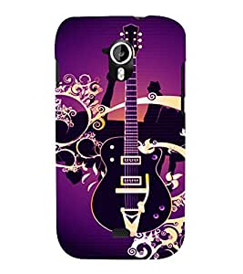printtech Guitar Colored Pattern Back Case Cover for Micromax Canvas HD A116::Micromax Canvas HD Plus A116Q