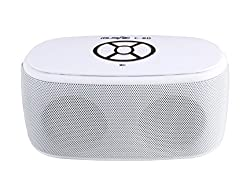 Spintronics C80 Flip Bluetooth Wireless Mobile/Tablet Speaker (White)
