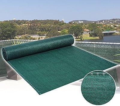 WOLTU #358-1 Zaunblende Tennisblende Schattiernetz Sichtschutz Windschutz Staubschutz Sonnenschutz Gewebe Netz , grün