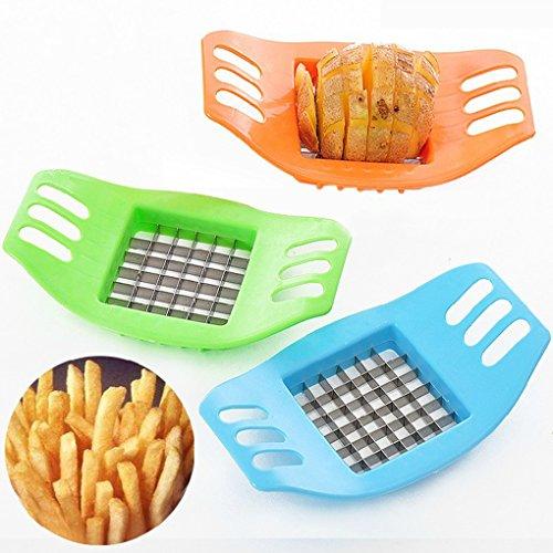 Kchenhelfer-Rostfreier-Stahl-Gemse-Kartoffel-Hobel-Cutter-Schneiden-Slicer-Cut-Fries-Gerte-Kleiner-Werkzeug