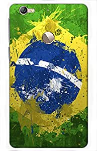 football Printed Case for LeEco LeTv Le 1s