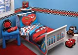 Disney 4 Piece Toddler Bedding Set, Taking The Race