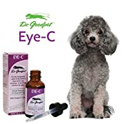 Dr. Goodpet Eye-C All Natural Eye Drops for Dogs & Cats - Highest Quality Zinc & Vitamin C