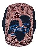 (ウォ2U)Woo2u キッズ 男の子 子供 春夏 紫外線 ハンチング帽子 スポーツデニム キャップ サンバイザー 野球帽 日焼け防止 鳥打ち帽 ピンク