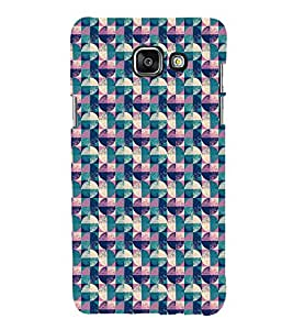 Fuson Premium Back Case Cover Circle pattern With Multi Background Degined For Samsung Galaxy A5(2016)::Samsung Galaxy A5 A510F