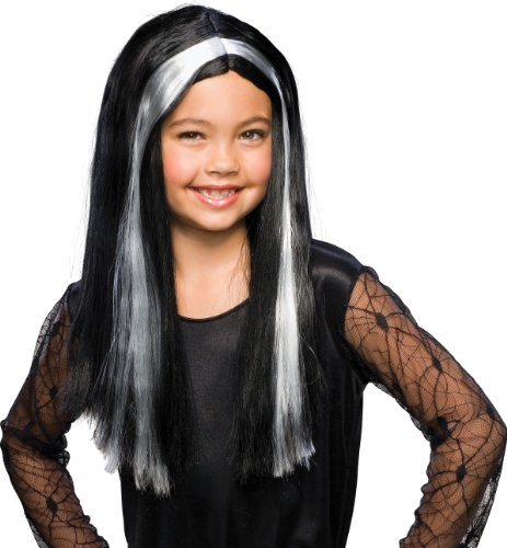 Rubies Streaked Child Witch Wig
