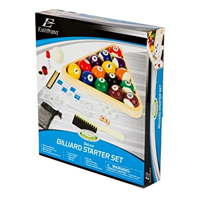 EastPoint Deluxe Billiard Starter Kit