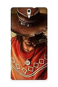 AMEZ Call of Juarez Gunslinger Back Cover For Sony Xperia C5