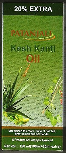 Patanjali Divya Kesh Kanti Hair Oil for Strong Hair Split Ends Grey Hair and Hairloss 100ml